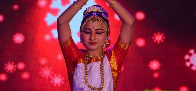 Indian Dance Pose